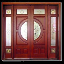 Cửa sắt giả gỗ – Báo giá thiết kế thi công lắp đặt