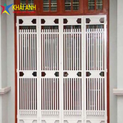 Mẫu cửa sắt sơn tĩnh điện CSST 010