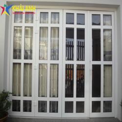 Mẫu cửa sắt sơn tĩnh điện CSST 008