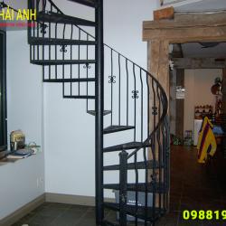 Mẫu lan can cầu thang sắt CCTS 024