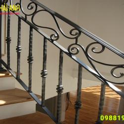Mẫu lan can cầu thang sắt CCTS 020