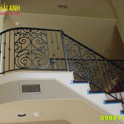 Mẫu lan can cầu thang sắt CCTS 016