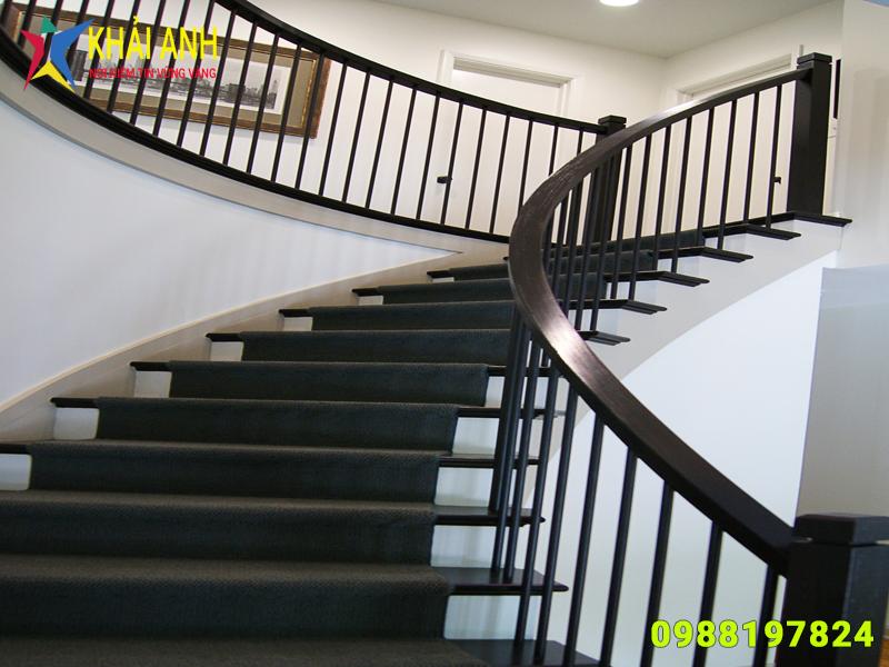 cầu thang sắt 014 nghệ thuật đẹp hà nội