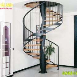 Mẫu lan can cầu thang sắt CCTS 022