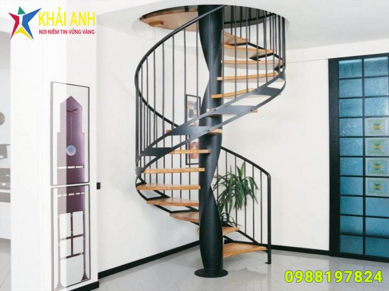 cầu thang sắt 022 đẹp hà nội