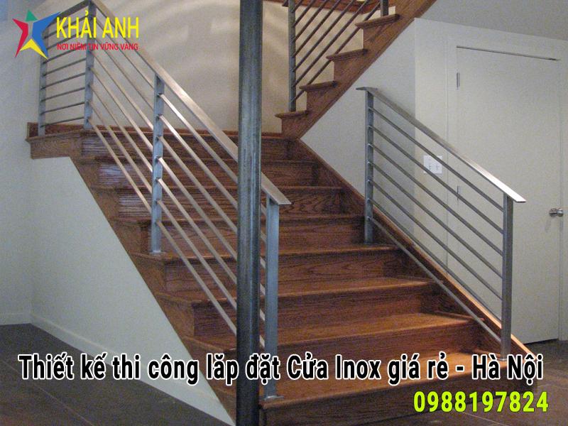 cầu thang inox 030
