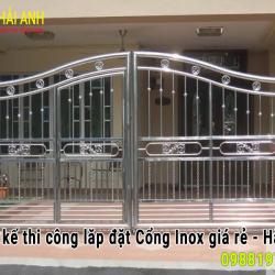 Mẫu cổng Inox CI – 003