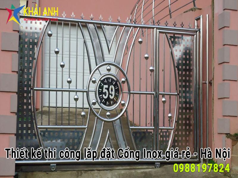 cổng inox 014