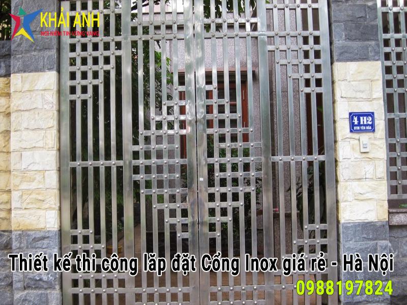 cổng inox 015