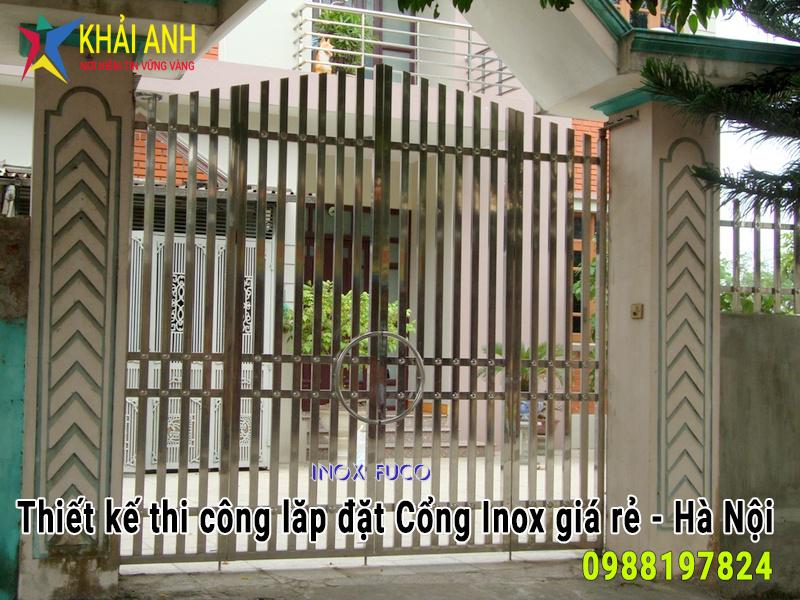 cổng inox 017
