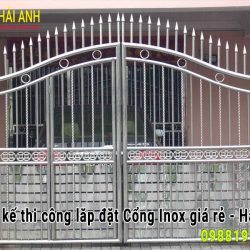 Mẫu cổng inox CI – 018