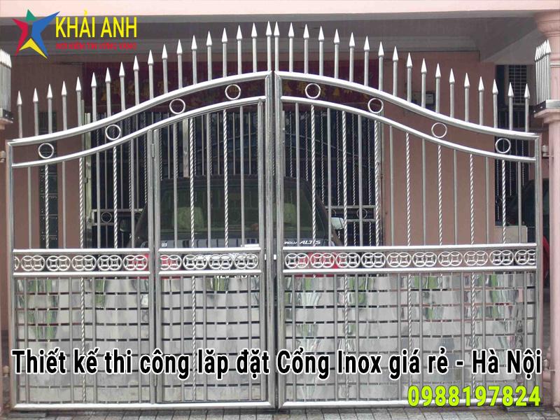 cổng inox 018