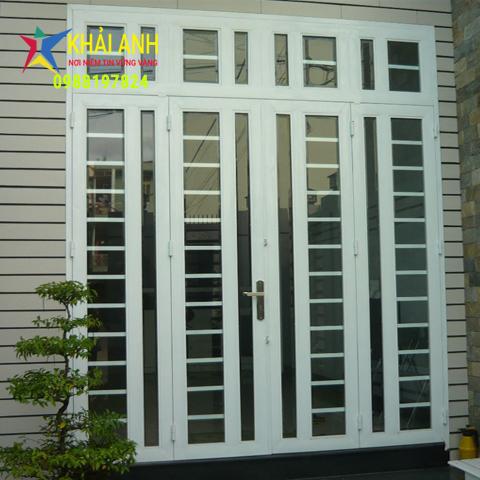 cửa sắt sơn tĩnh điện 002