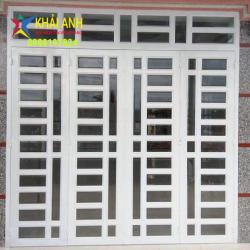 Mẫu cửa sắt sơn tĩnh điện CSST 006