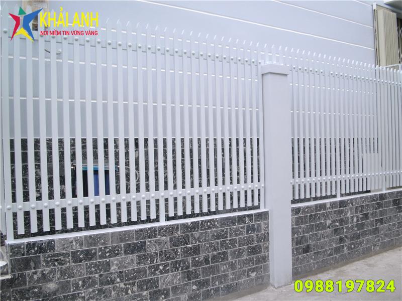 hàng rào sắt hộp 007 đẹp hà nội