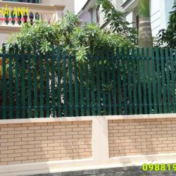 Mẫu hàng rào sắt hôp HRSH 005