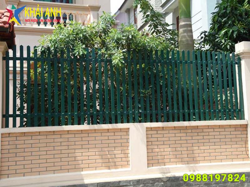 hàng rào sắt hộp 005 đẹp hà nội