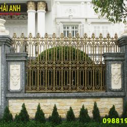 Báo giá hàng rào sắt nghệ thuật đẹp Hà Nội