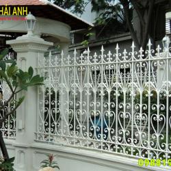Mẫu hàng rào sắt nghệ thuật HRSN 005