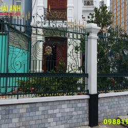 Mẫu hàng rào sắt nghệ thuật HRSN 007