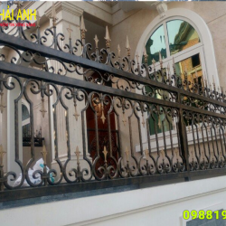 Mẫu hàng rào sắt nghệ thuật HRSN 009
