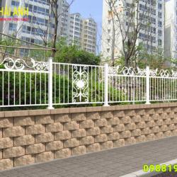 Mẫu hàng rào sắt nghệ thuật HRSN 010