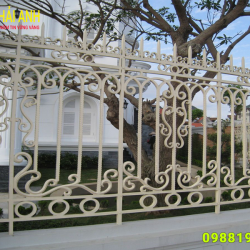 Mẫu hàng rào sắt nghệ thuật HRSN 0014