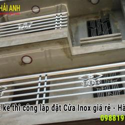Mẫu lan can ban công Inox : LCBC 013