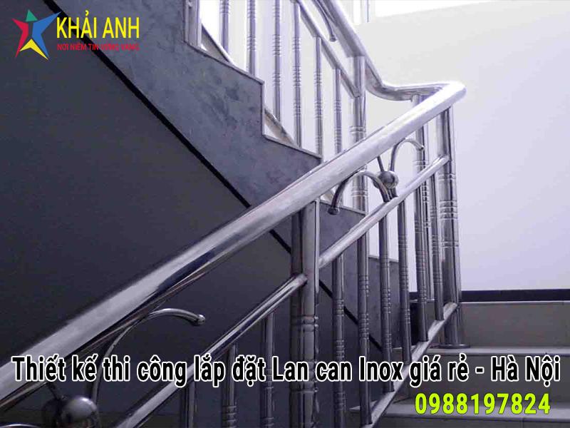 cầu thang inox 016