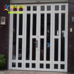 Mẫu cửa sắt sơn tĩnh điện CSST 003